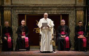 Pope Warns Curia Members on Living Double Lives