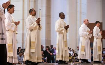 Five Newly Ordained Priests for Galveston-Houston