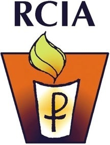 RCIA Easter candle