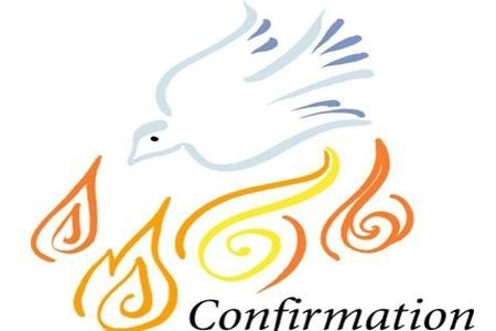 Confirmation dove and tongues of fire