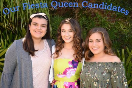 Fiesta Queen Candidates for 2018