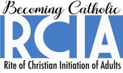 RCIA Becoming Catholic logo