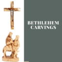 October 19th & 20th Holy Land Olivewood Carvings for Purchase at St. Maximilian Kolbe
