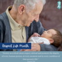 OCTOBER - Respect Life Month