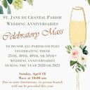 St. Jane's Anniversary Couple Celebration