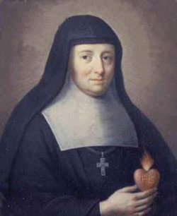 The Feast Day of St. Jane de Chantal our Parish Patroness