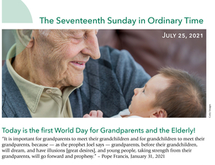 First Annual World Day for Grandparents and the Elderly