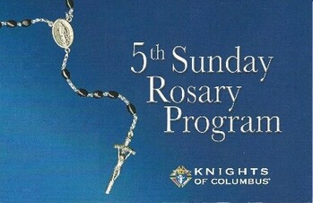 Fifth Sunday Rosary January 31