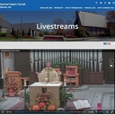 Livestreamed Masses and special services