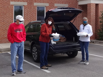 Casserole drop-off for Our Daily Bread