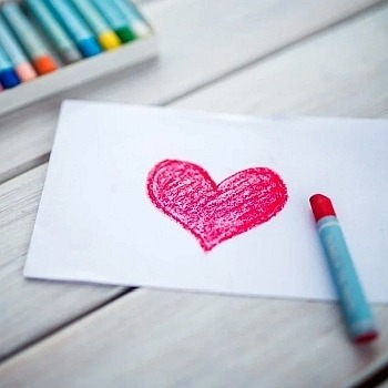 St. Valentine's Day cards for the nursing home