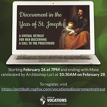 Virtual discernment retreat