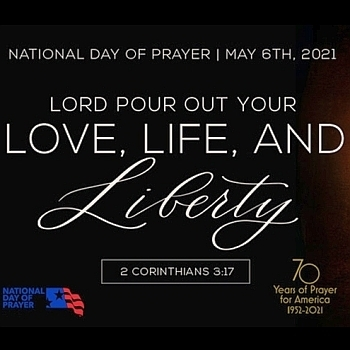 National Day of Prayer: Thursday, May 6
