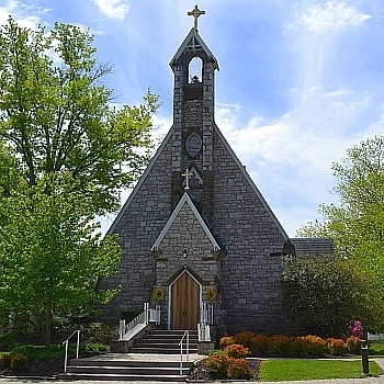 Weekday evening Masses will be in the Little Church