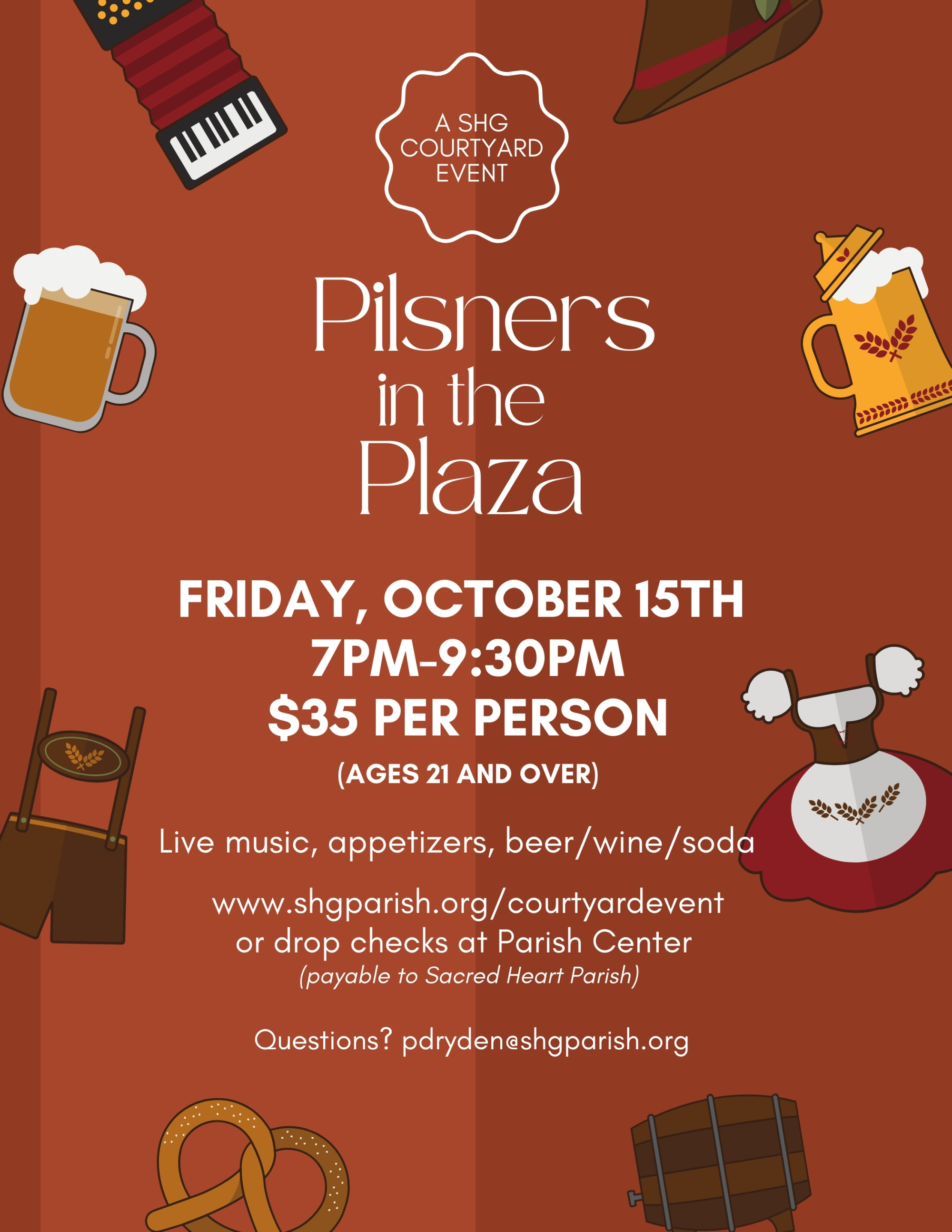 Courtyard Event: Pilsners in the Plaza