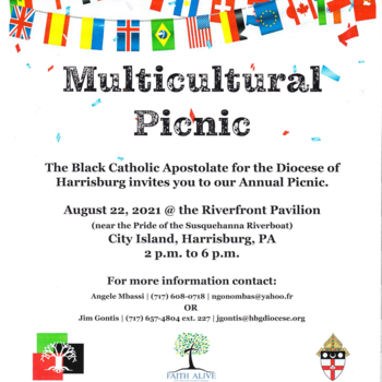 Multicultural Picnic - 22nd of August of 2021