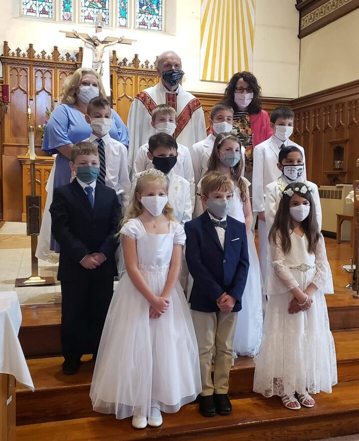 St. James 2021 First Holy Communion Class