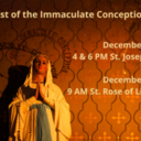Immaculate Conception Anticipated Mass- St. Joseph