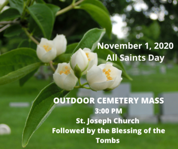 Outdoor Cemetery Mass and Blessing of the Tombs