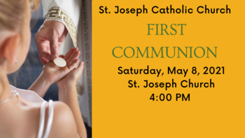 First Communion Mass for St. Joseph Church