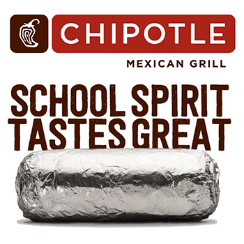 Don't Forget Chipotle Night!