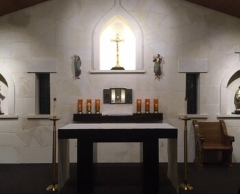 Adoration Chapel - Reopens on April 11th