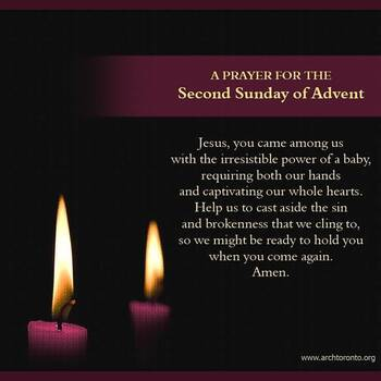 2nd Sunday in Advent Prayer