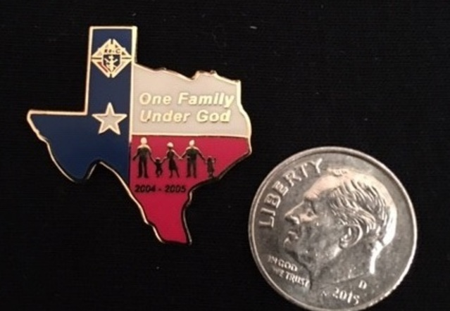 Old Charity Pin