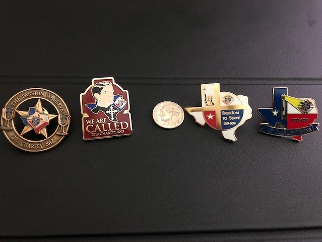 Old Charity Pins