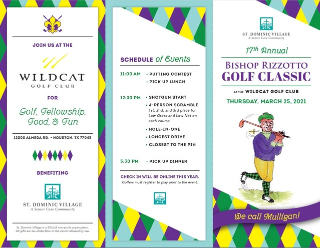 17th Annual Bishop Rizzotto Golf Classic