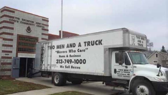 Two Men and a Truck...Headed toward $1 Billion