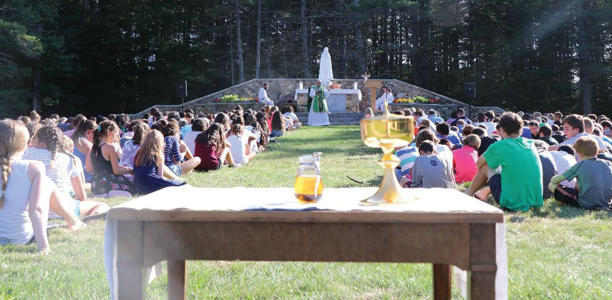 Catholic camps can stoke fervor for life
