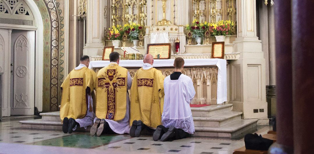 Finding reverence in abundance with Priestly Fraternity of St. Peter