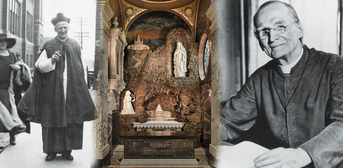 Venerable Father Nelson Baker's road to victory… paved with the power of Our Lady
