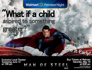 Legate promotes new Superman film