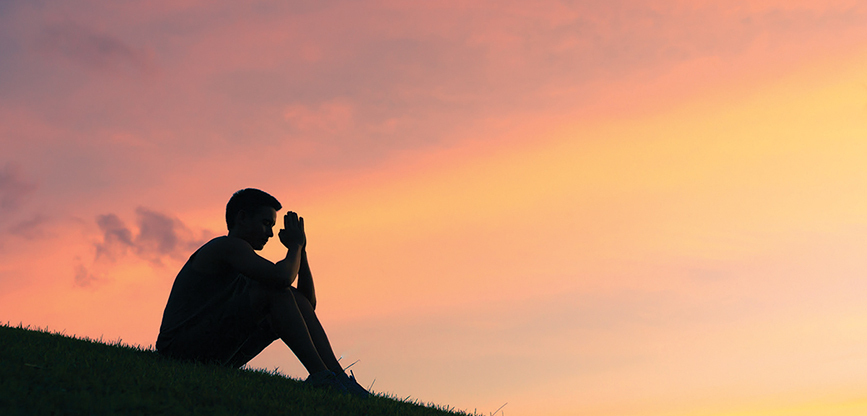 During crisis, intensify friendship with God … in stillness