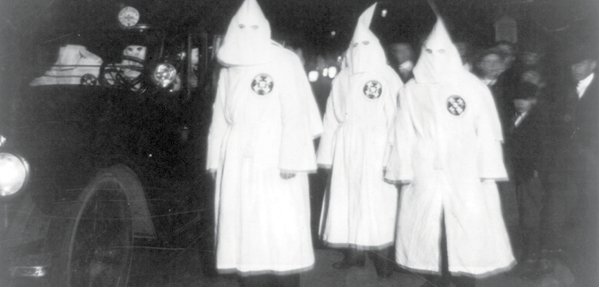 When the Klan came to town ...and got run out