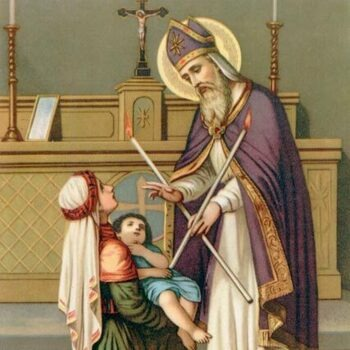 Memorial Mass of St. Blaise, Bishop, Martyr (Blessing of Throats)