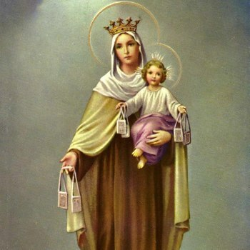 Memorial Mass of Our Lady of Mount Carmel