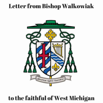 New Letter from Bishop Walkowiak