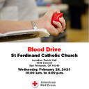 Click Here for Information on our Blood Drive on February 24th
