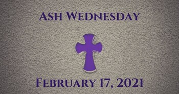 Click Here for Ash Wednesday Schedule