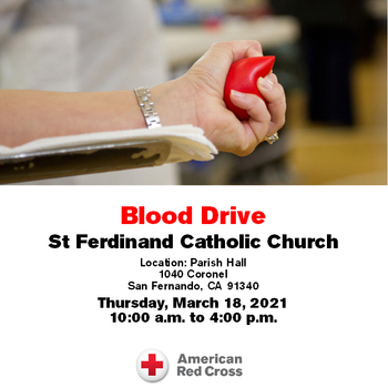 Please click here for Blood Drive