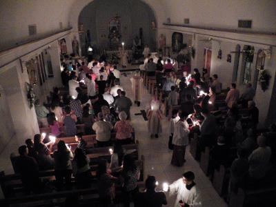 Easter Vigil Mass with Candlelight Service and renewal of Baptismal Promises