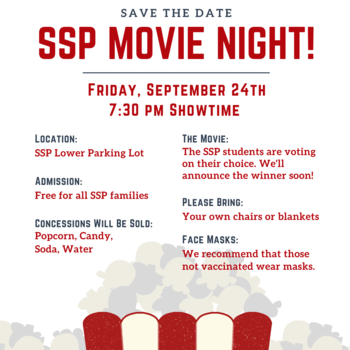 Save the Date: PTO Outdoor Movie Night