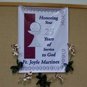 Fr. Joyle's 25th Anniversary Pictures