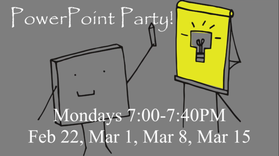 PowerPoint Party Promo