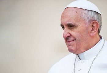 What did Pope Francis say about civil unions?