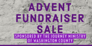 Advent Sale/Journey Fundraiser