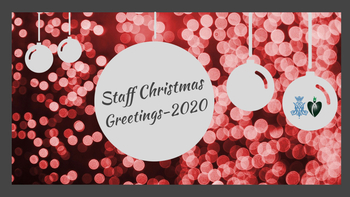 Christmas Wishes from the Pastoral Staff!